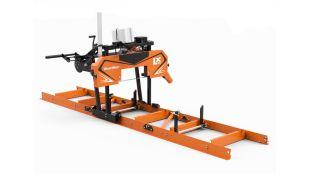 LX55 Twin Rail Sawmill