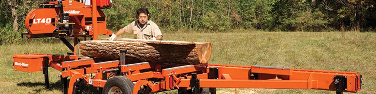 Moldureras para troncos