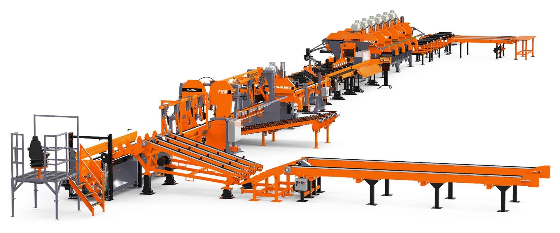 SLP2 Small Log Processing Line